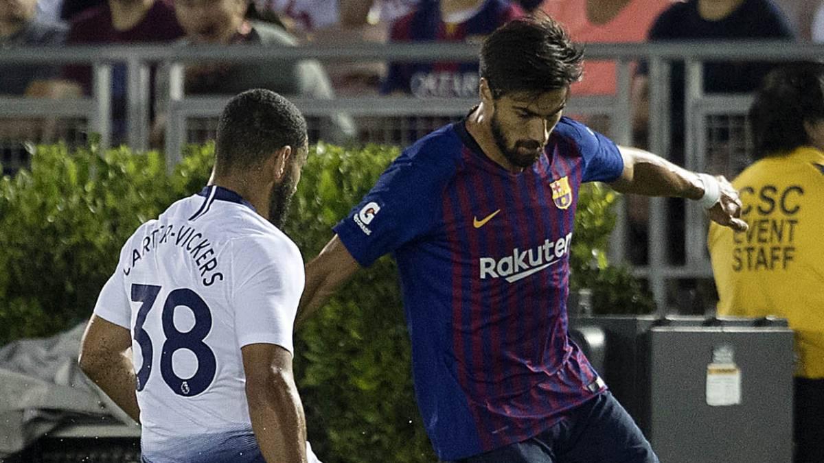 El Barça puede firmar otro medio si vende a André Gomes - AS.com