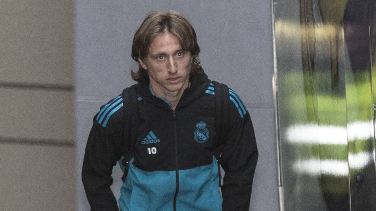 Inter Target Modric To Hold Talks With Real Madrid Today