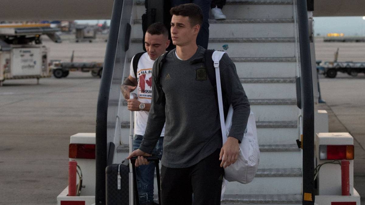 Kepa set to arrive in London after Chelsea pay record £72m fee