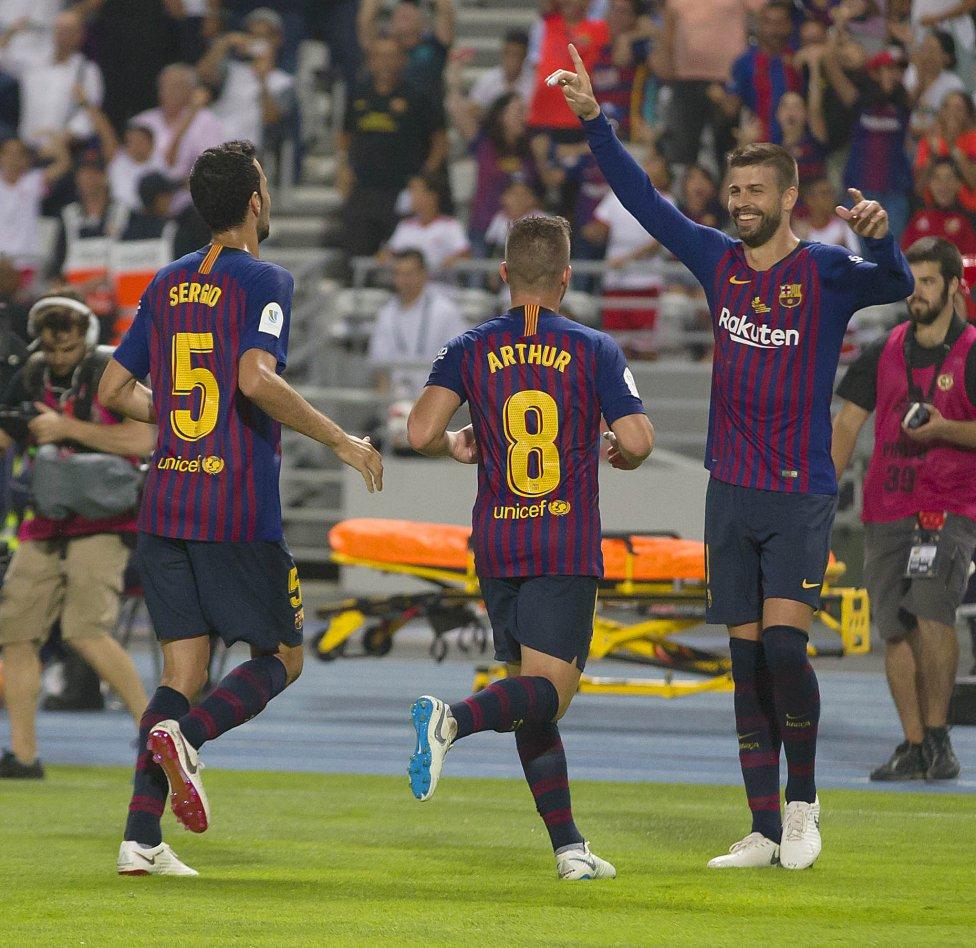 صور مباراة : برشلونة - إشبيلية 2-1 ( 13-08-2018 )  1534099849_559450_1534109133_album_grande
