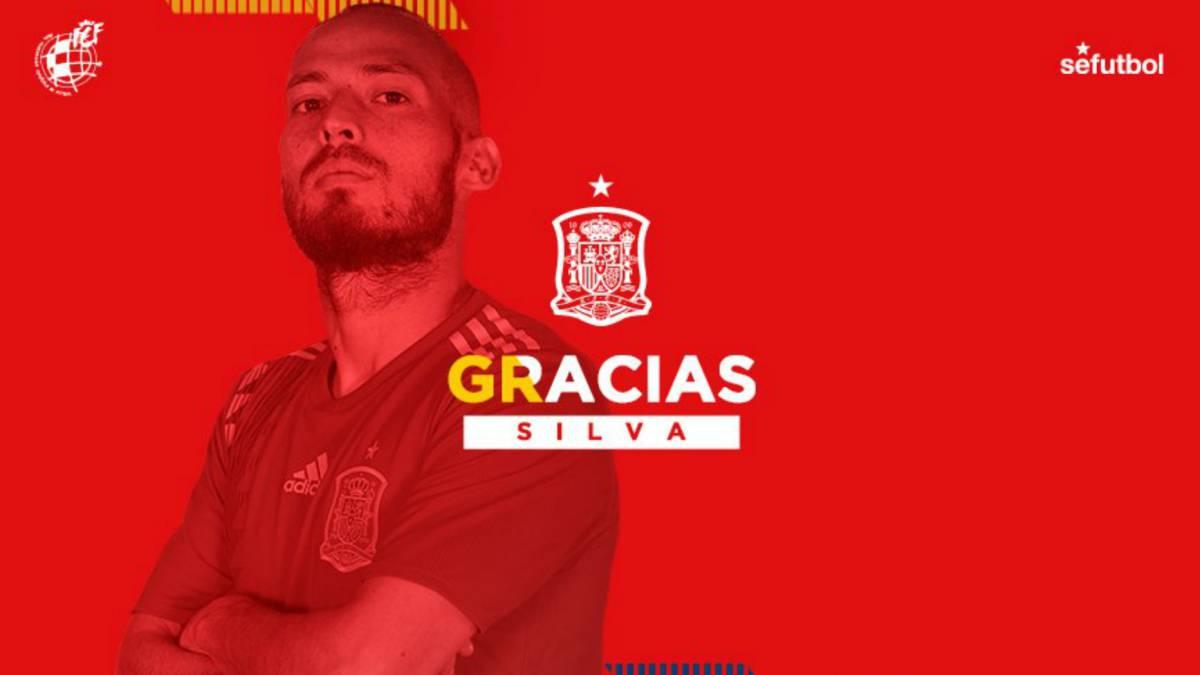 Man City's Silva retires from international football