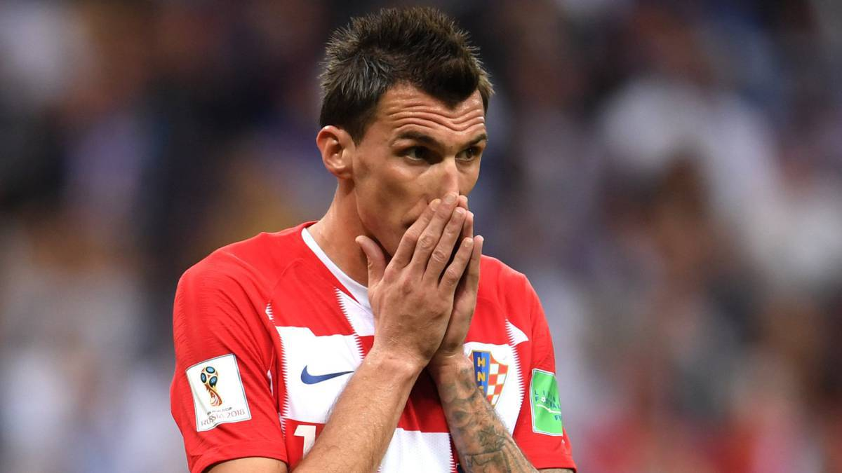 Fútbol: Mario Mandzukic se despidió de la selección