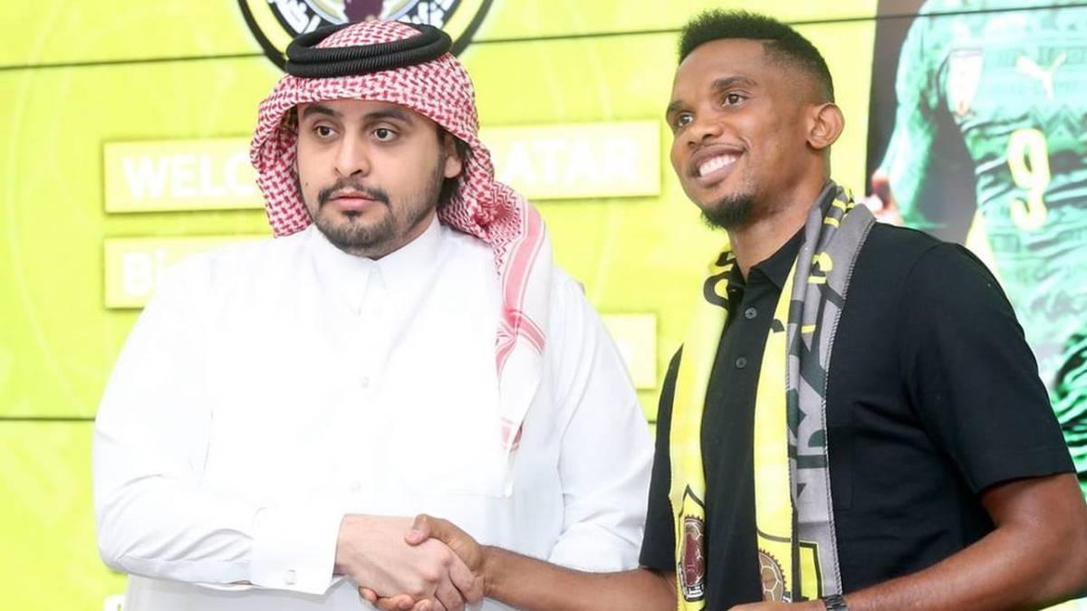 Hay Eto'o para rato: acordó su llegada al fútbol de Qatar