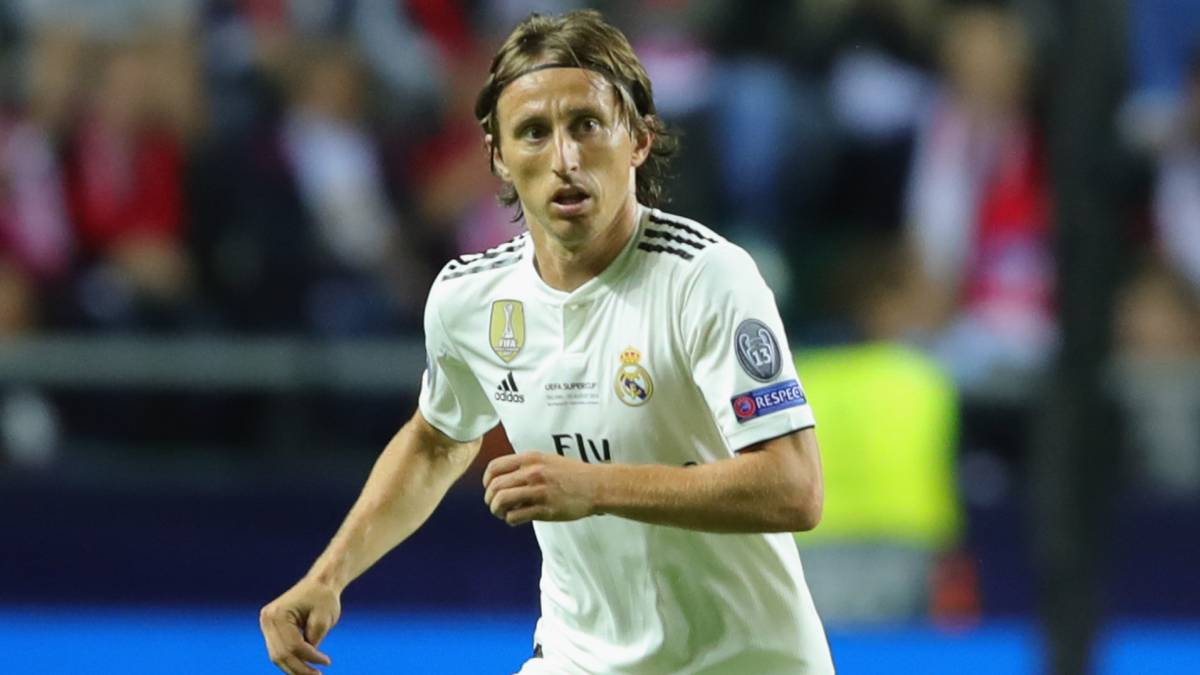 Real Madrid complain to Federation Internationale de Football Association  over Inters alleged Luka Modric approach