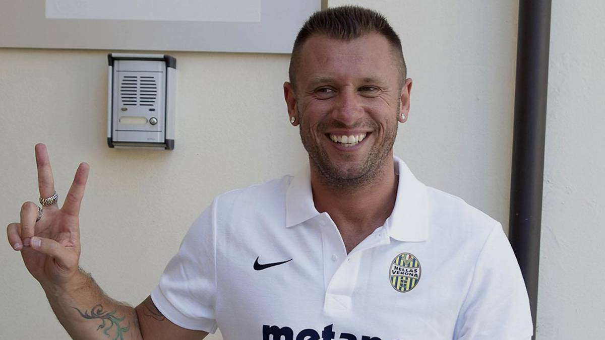 Real madrid stanger av cassano