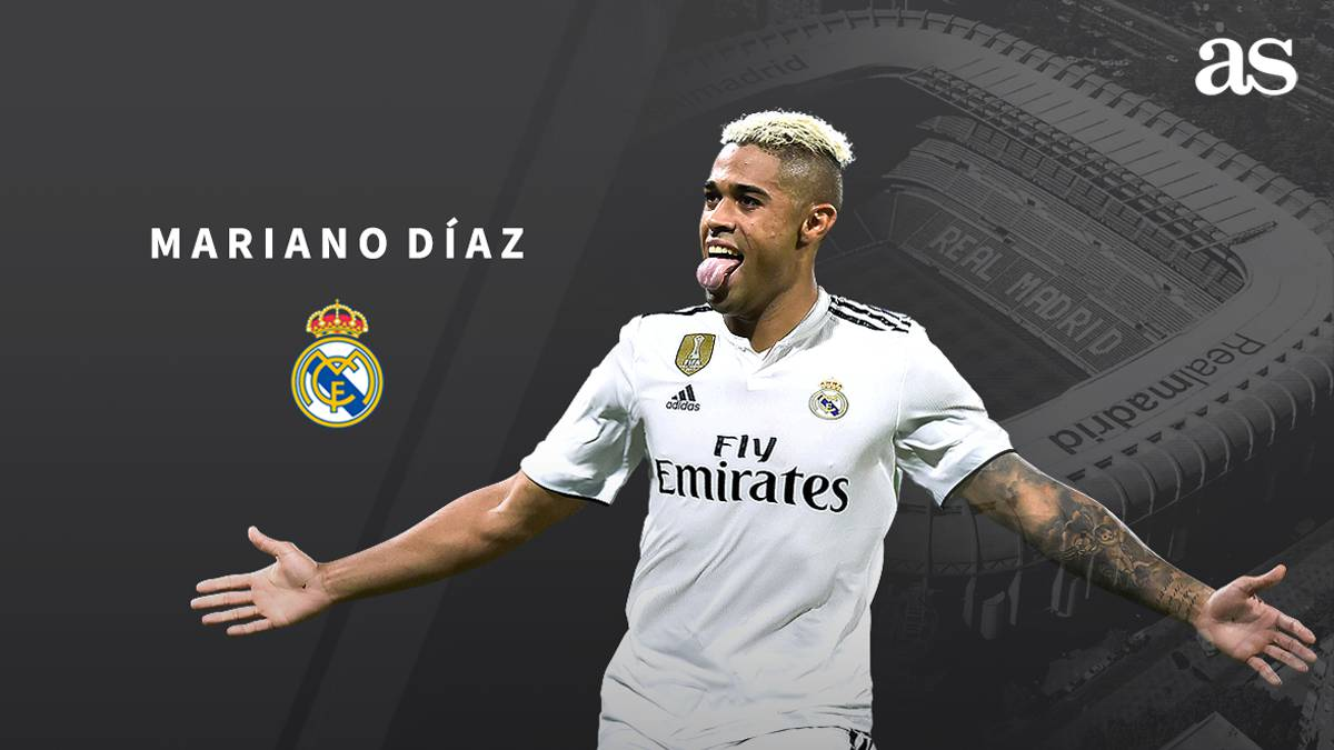 Official  Mariano signs for Real Madrid - AS.com d3ed7d49f