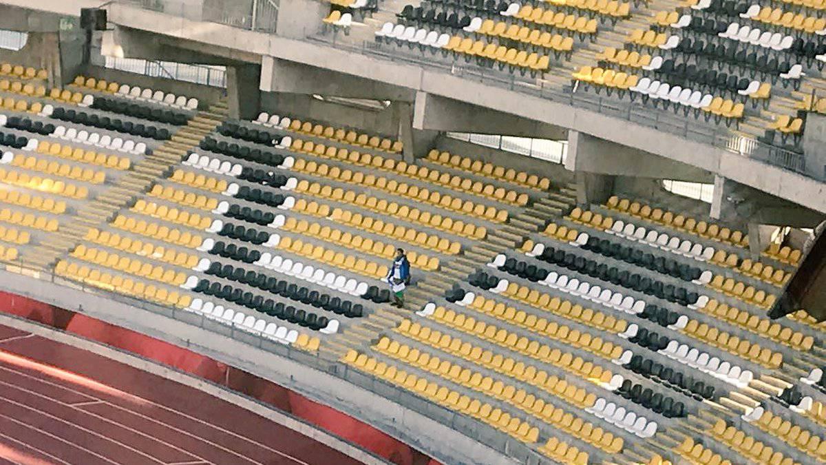 Hincha solitario de Puerto Montt es candidato al FIFA Fan Award