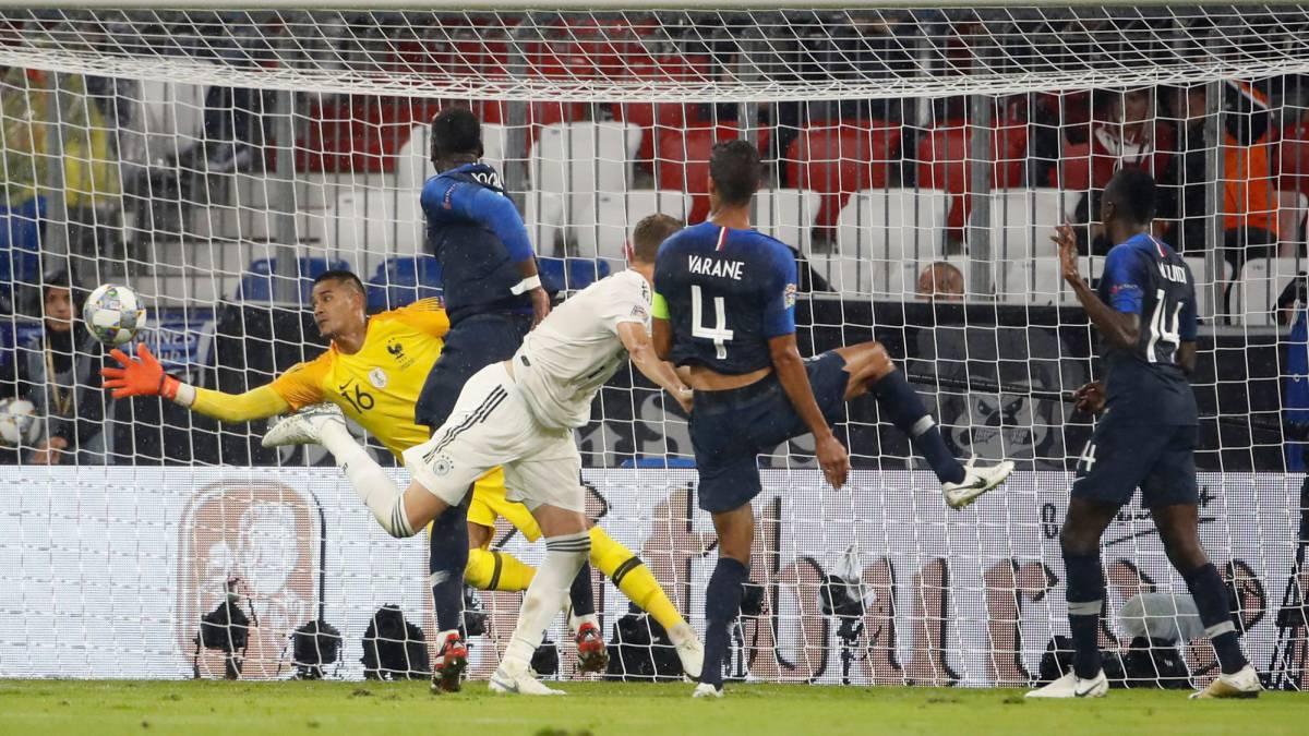 Alemania 0 - Francia 0: resumen y resultado UEFA Nations League - AS.com