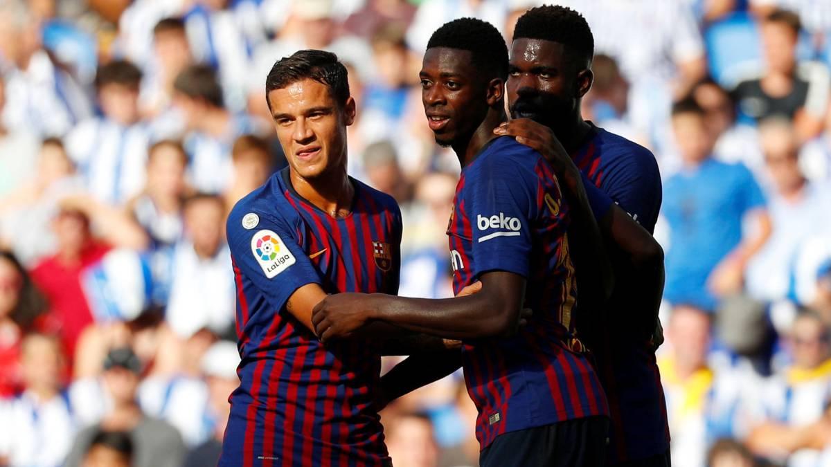 Messi y sus genialidades dan la victoria al FC Barcelona