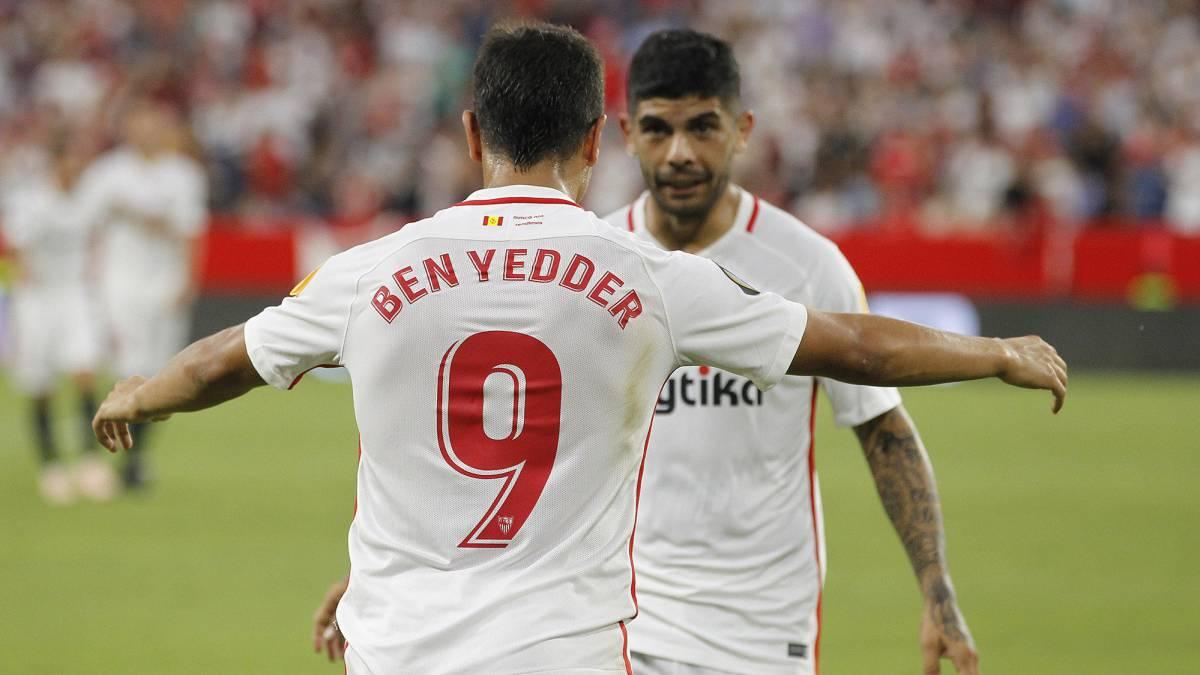 b0508a8a48f Sevilla 5 - Standard 1  goles