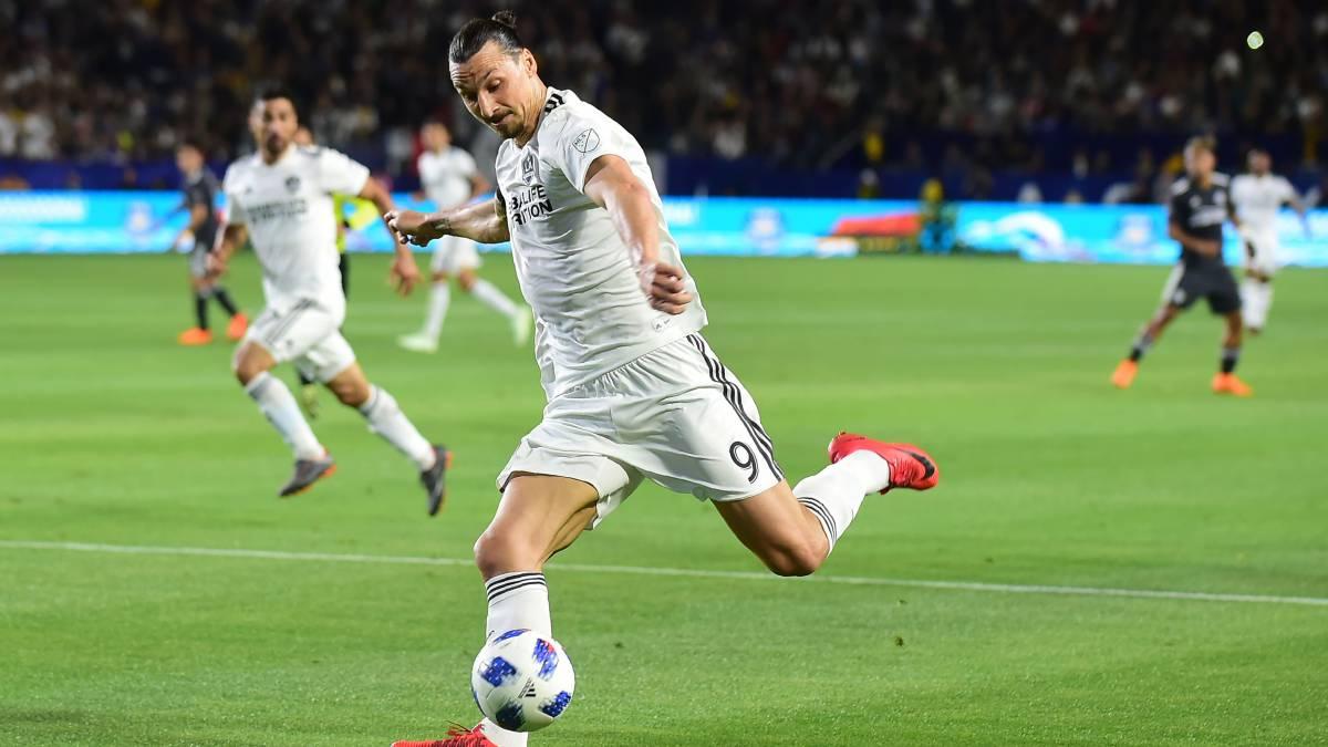 "Zlatan Ibrahimovic deja entrever posible salida del Galaxy"""