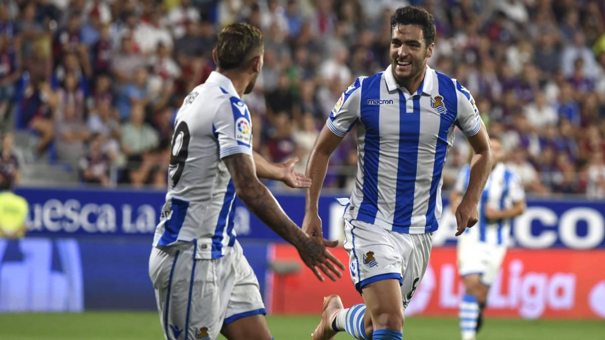 Real Sociedad retornan a la victoria ante Huesca