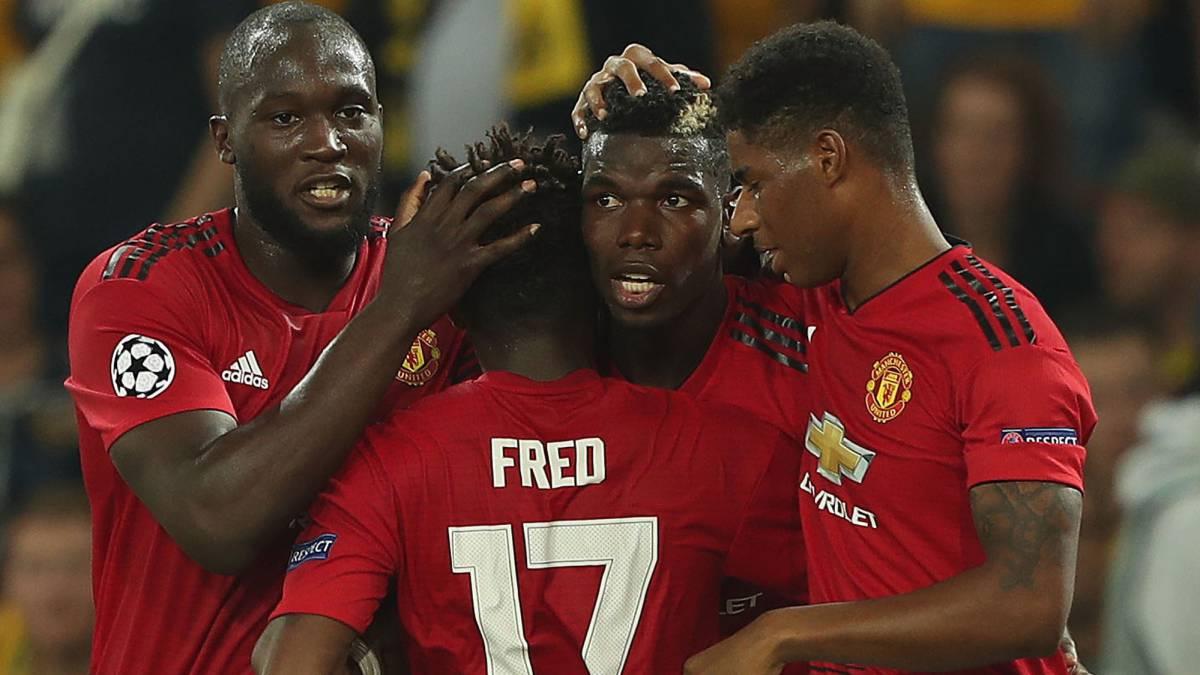 Alta tensión en su reencuentro — Guerra Mourinho-Pogba