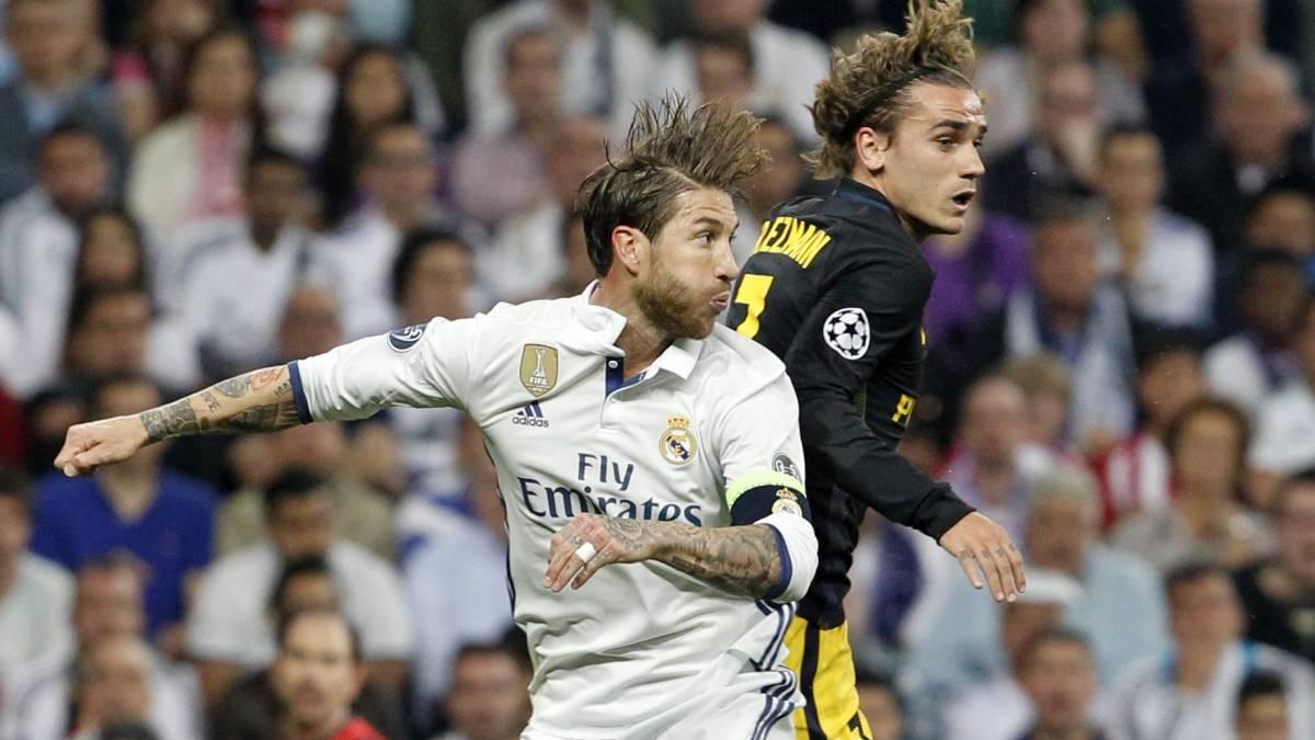Griezmann incluye a Ramos en su equipo de ensueño