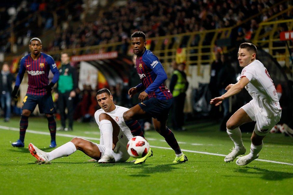 صور مباراة : كولتورال ليونيسا - برشلونة 0-1 ( 31-10-2018 ) كأس ملك إسبانيا 1541018306_553970_1541022134_album_grande