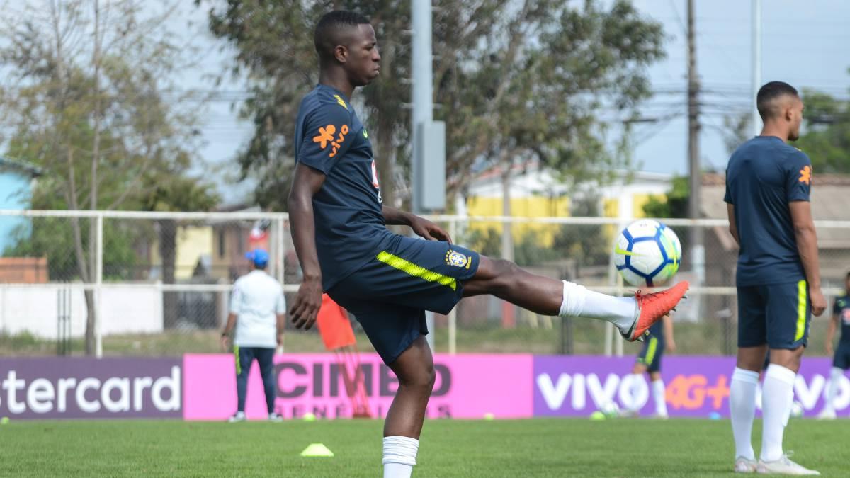 Vinícius Júnior no Jugará el Sudamericano Sub 20 con Brasil — Real Madrid