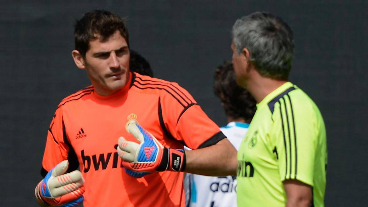 Jose Mourinho accuses Iker Casillas of 'secret' confrontation at Real Madrid