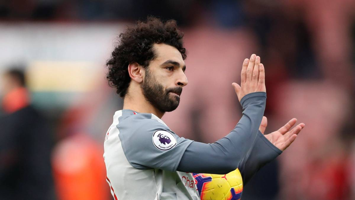 Klopp hails 'exceptional' Salah as Liverpool power to convincing Bournemouth win