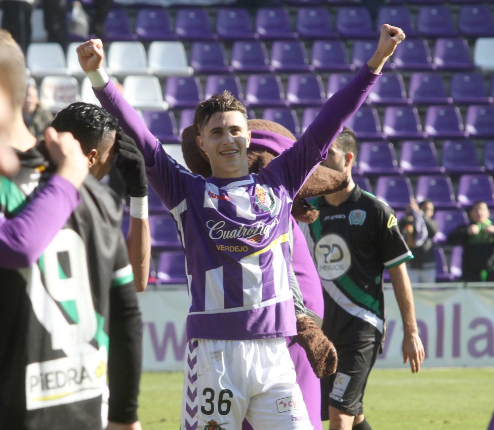 Mario Hermoso Jugador del Real Valladolid