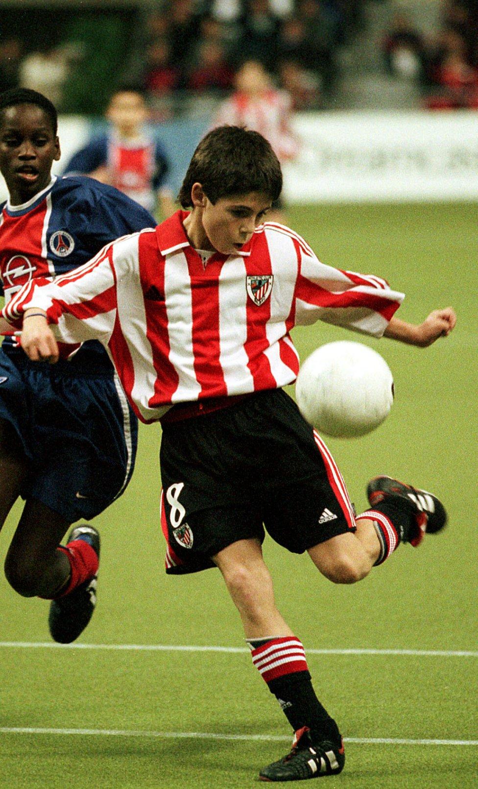 Estrellas del fútbol que jugaron de niños en torneos de fútbol 7. Markel Susaeta