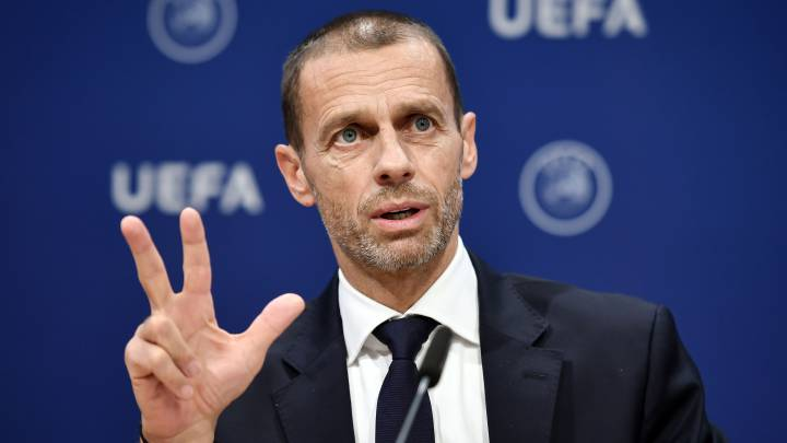 UEFA hints at the fate of all the major leagues in Europe