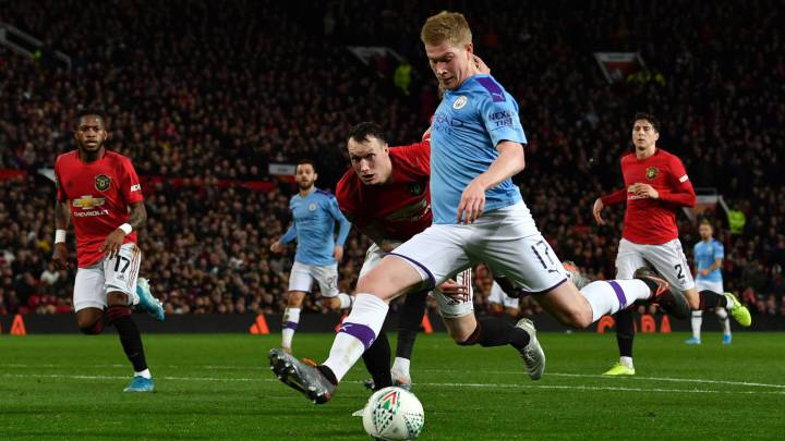 Kevin De Bruyne believes the Premier League campaign WILL be finished