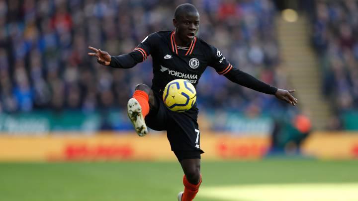 El Chelsea permite a Kanté entrenarse desde casa
