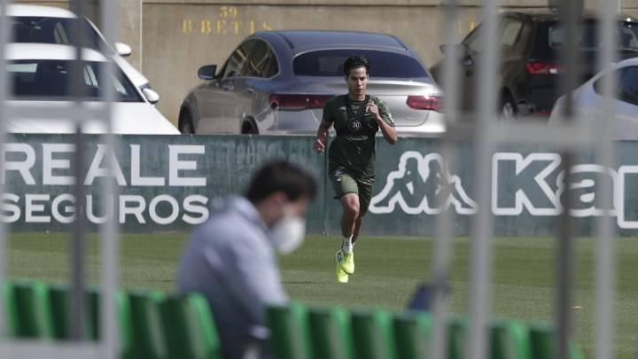 Betis negoció salida de Lainez al Galatasaray, pero fue 'rechazado — La Liga