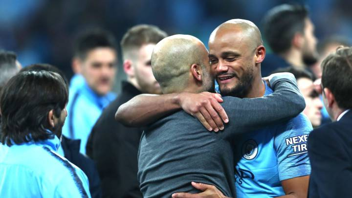 Vincent Kompany rejects opportunity to be Pep Guardiola's assistant coach