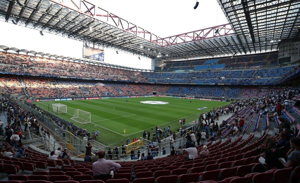 Estadio Giuseppe Meazza (Milán, Italia)