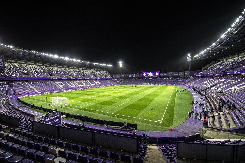 Estadio de José Zorrilla.