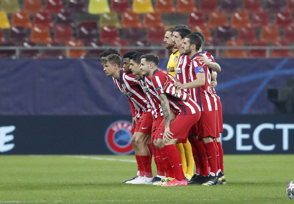 Equipo del Atlético de Madrid.