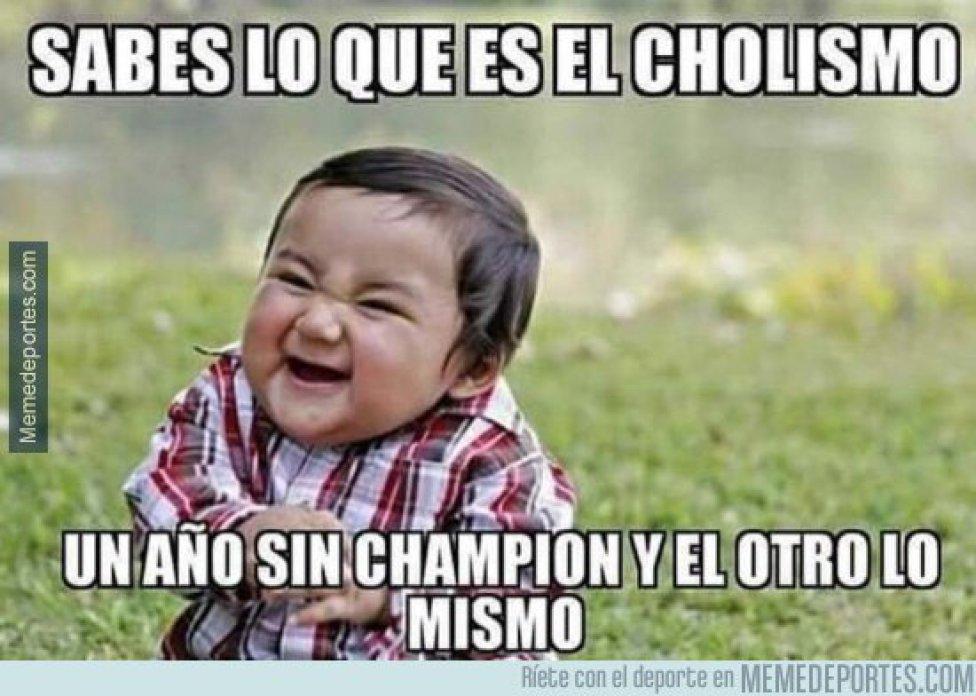 memes de la eliminación del Atlético de Madrid en Champions