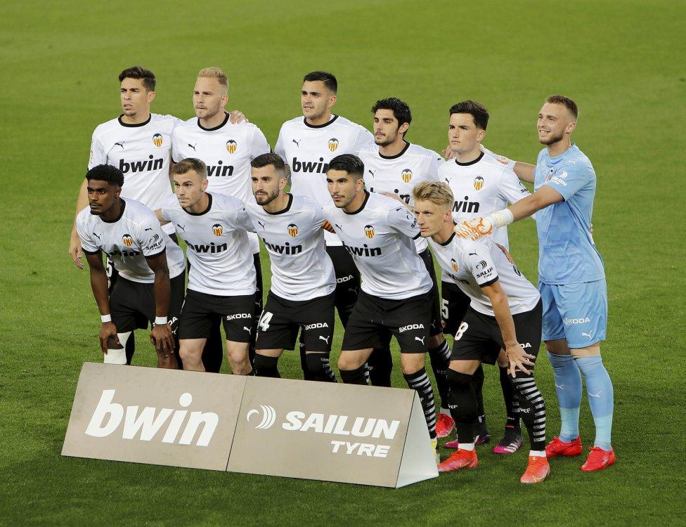 Equipo del Valencia.
