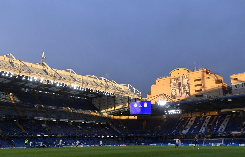Estadio de Stamford Bridge.