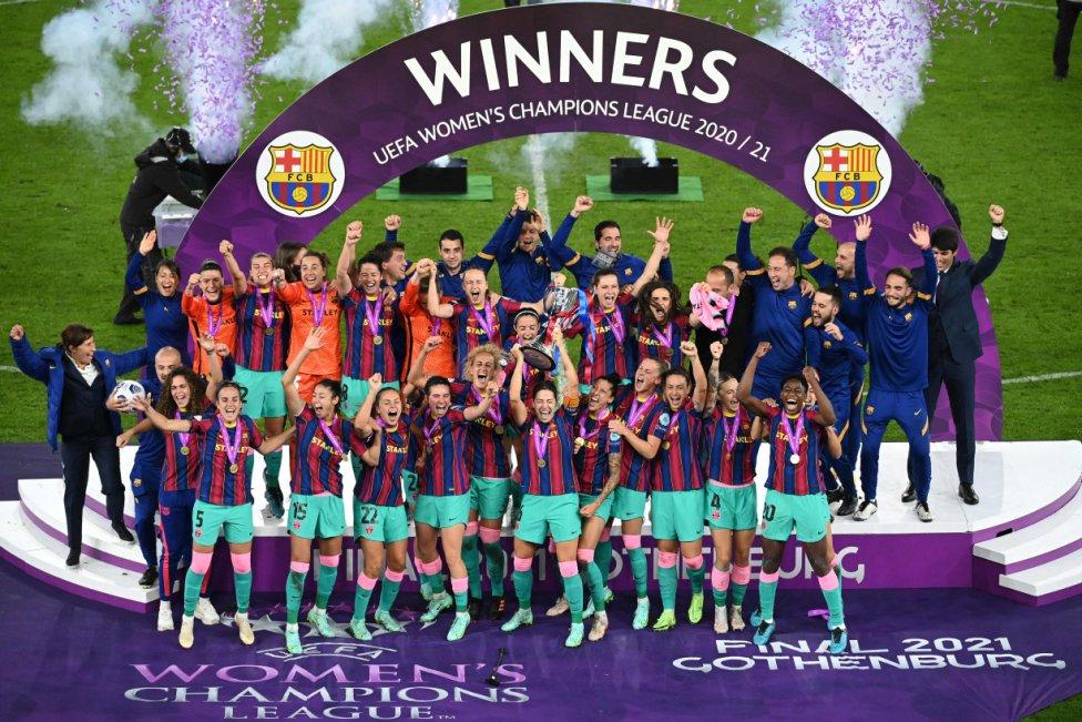 El Barcelona campeón de la Women's Champions League.