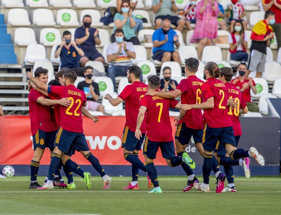 Guillamón marcó el 1-0 en el minuto 2 de partido.