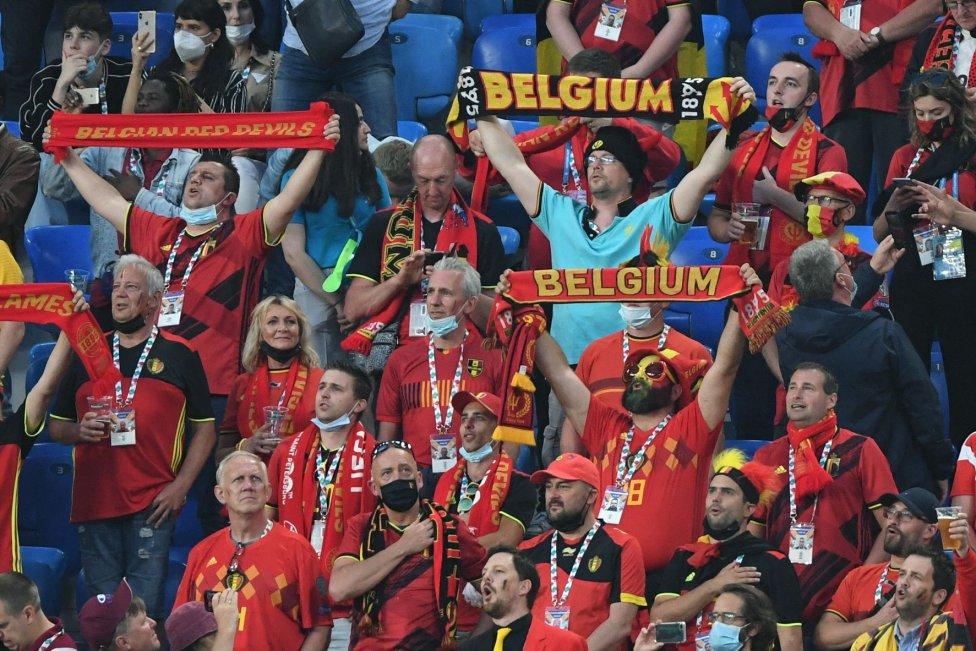 Aficionados de Bélgica.