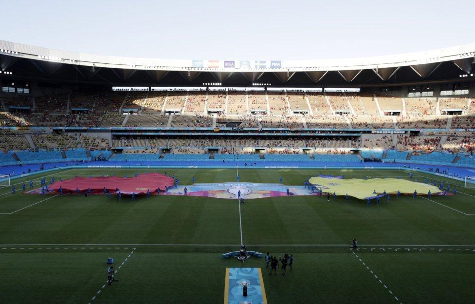 Estadio de La Cartuja en Sevilla.