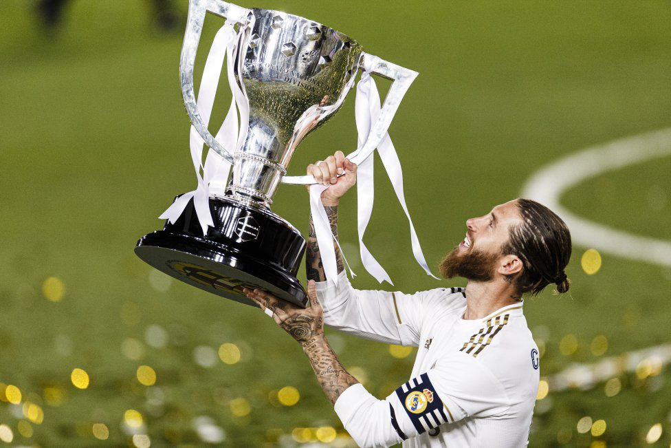 Sergio Ramos (Real Madrid). Defensa. 35 años.