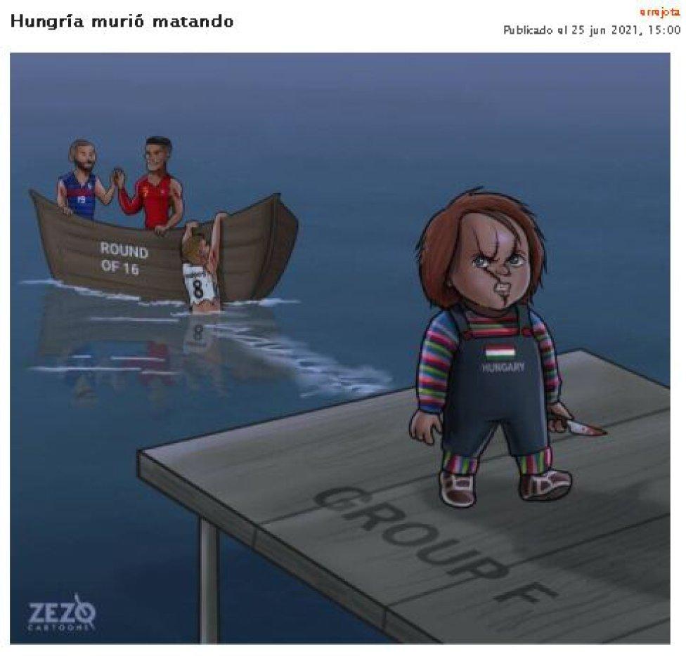 memes graciosos de la Eurocopa