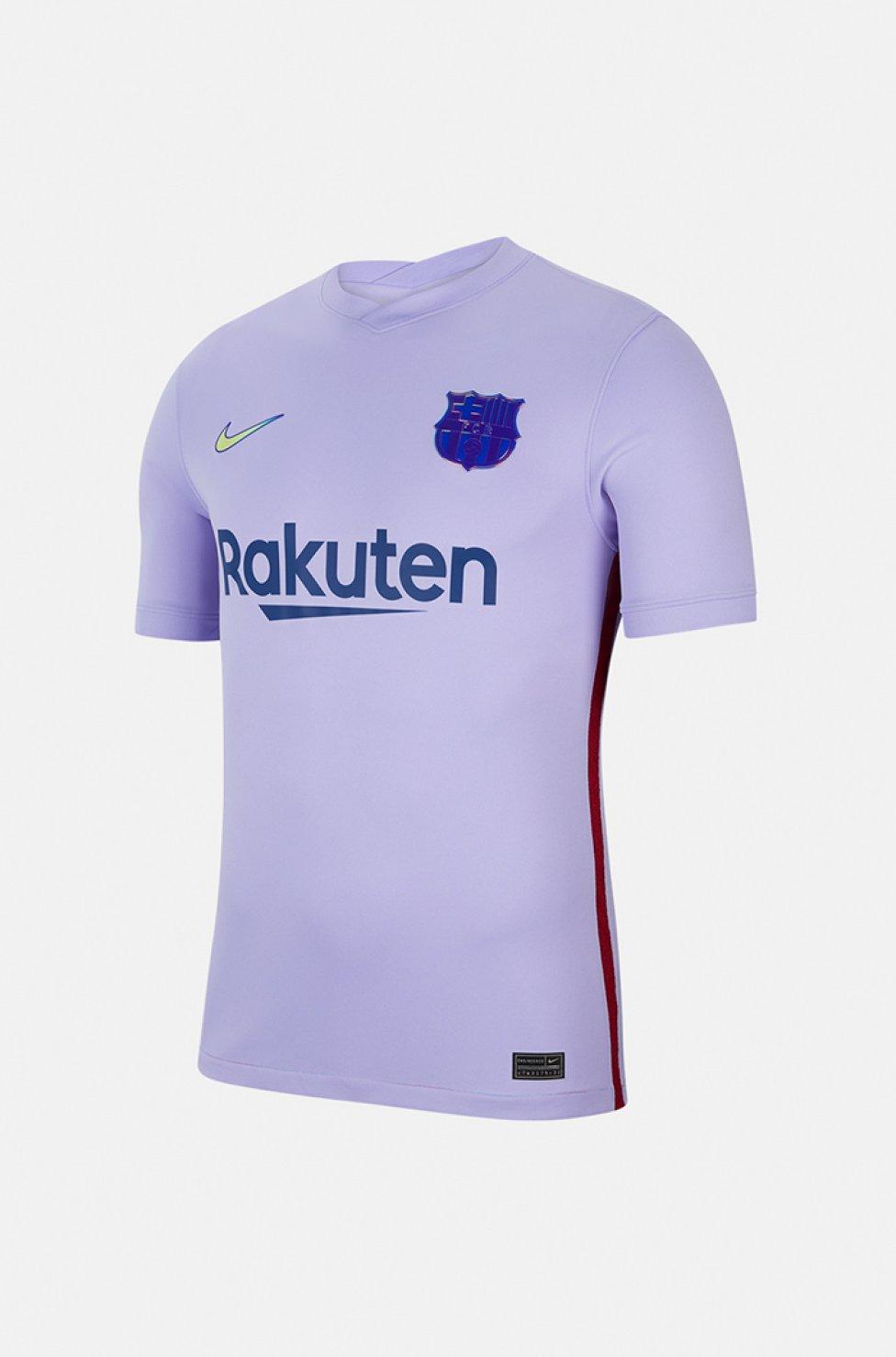 El FC Barcelona ha presentado la que será la segunda equipación para la temporada que viene con un mensaje muy claro: el empoderamiento de la mujer. Apuesta por el púrpura, color que nace la fusión del azul y el grana y con el que popularmente se representa la lucha por la igualdad de género.
