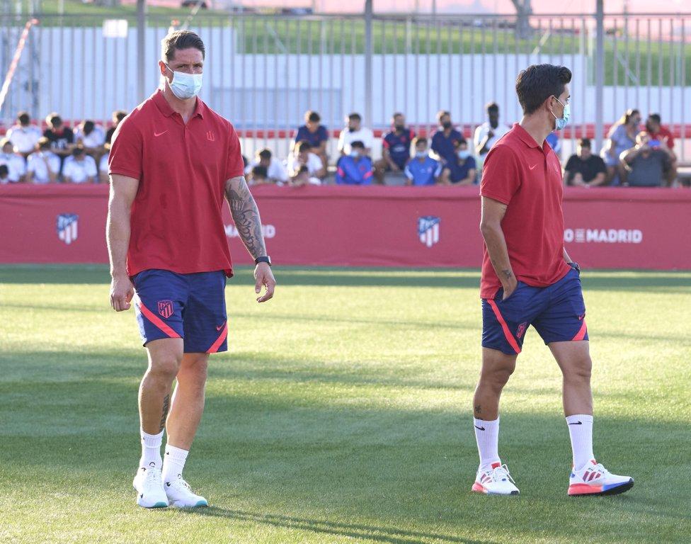Fernando Torres auxiliar del Juvenil A del Atleti