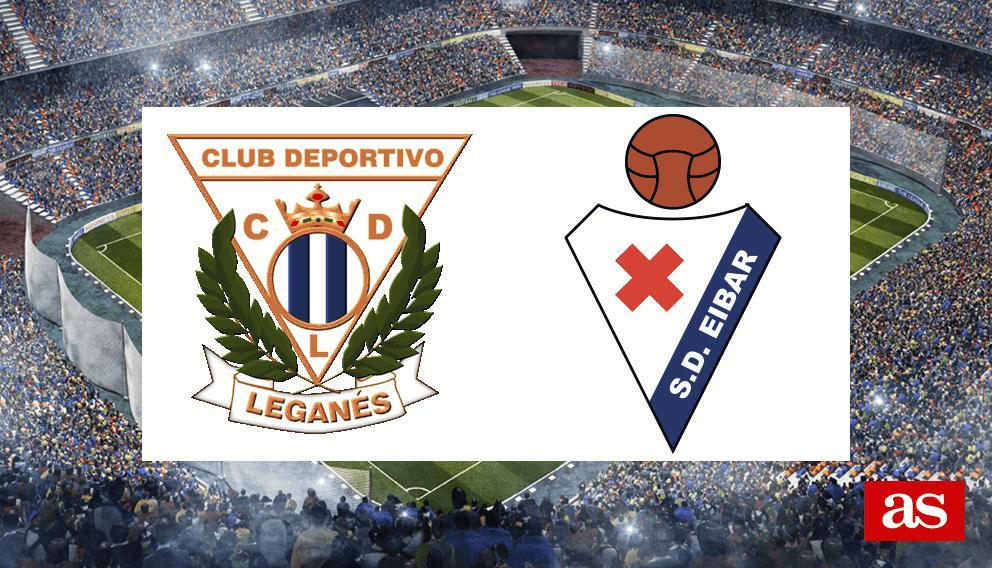 Leganés - Eibar: resumen, resultado y goles