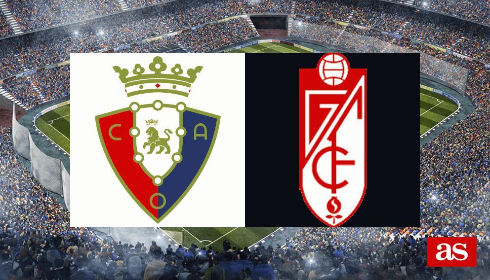 Osasuna 2-0 Granada: Resumen, goles y resultado
