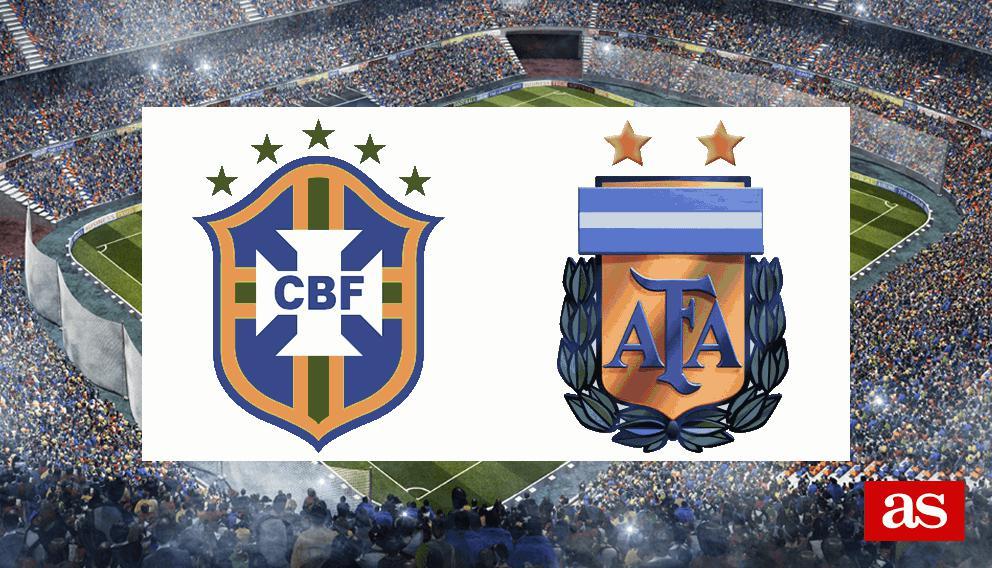 Brasil - Argentina en vivo y en directo online: Eliminatorias Sudamérica 2018