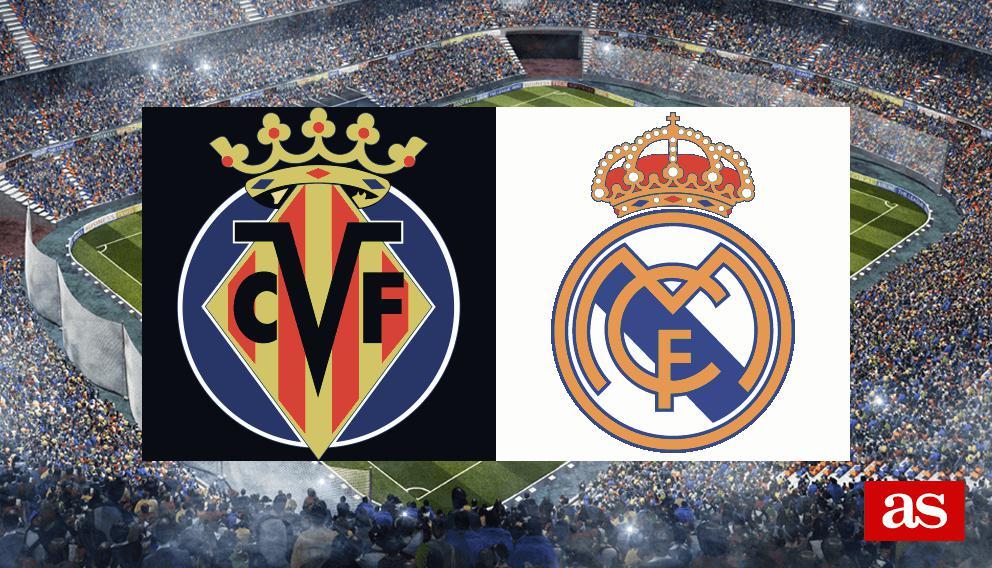 Villareal vs. Real Madrid live stream