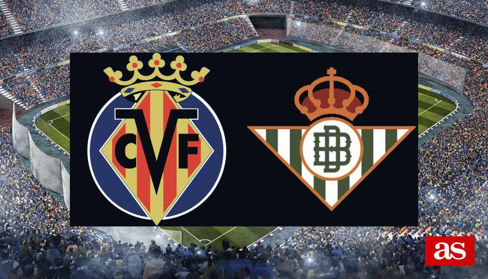 Villarreal vs. Betis live: LaLiga Santander 2016/2017 - AS.com