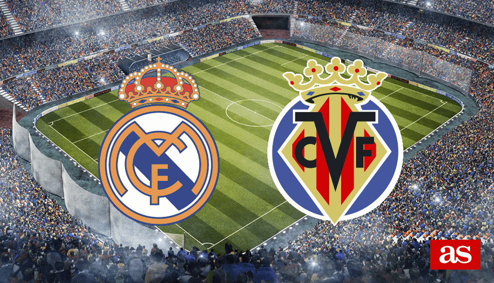 Real Madrid vs. Villarreal live: LaLiga Santander 2016/2017 - AS.com