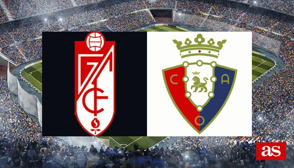 Granada - Osasuna en vivo y en directo online: Copa del Rey 2016/2017